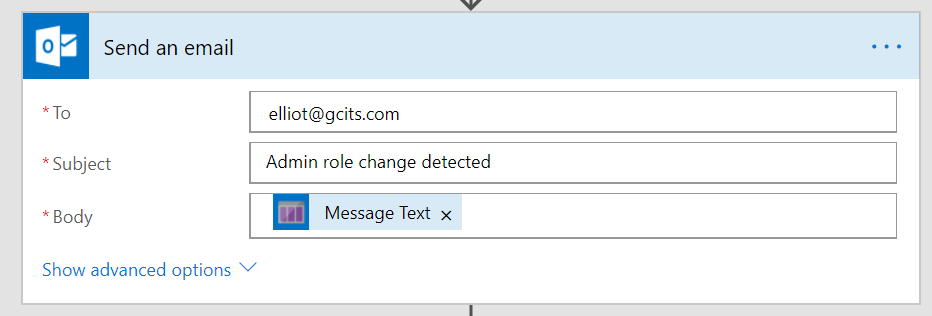Add Message Text From Queue To Email
