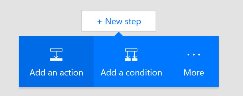 Add New Step To Microsoft Flow
