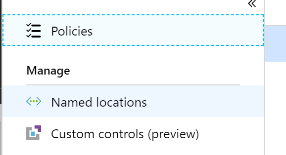 Azure Active Directory Named Locations