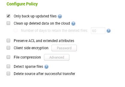 Configure Azure Backup Policy