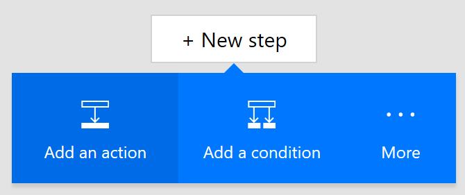 Create New Step In Microsoft Flow