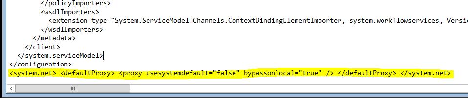 Edit .net v2 machine.config file