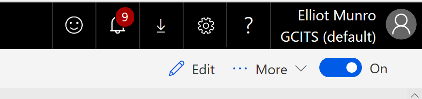 Enable Microsoft Flow