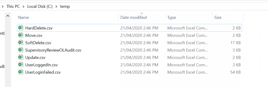 Export Microsoft 365 Activities By Operation To CSV