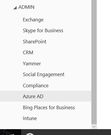 Open Azure AD To Customise Office 365 Login Branding