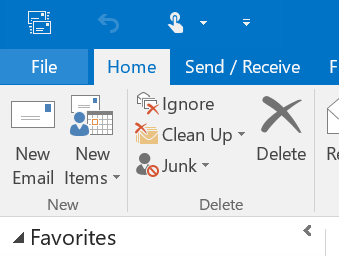 Setup Out Of Office in Outlook