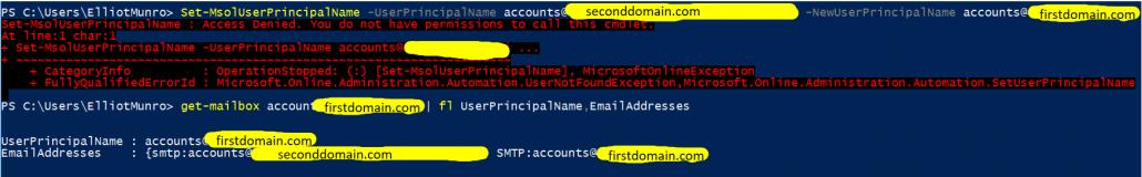 Troubleshooting Access Denied Error