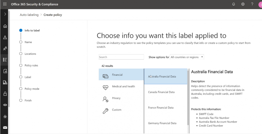 Use Auto-Labeling In Microsoft 365 Based On Sensitive Info Types